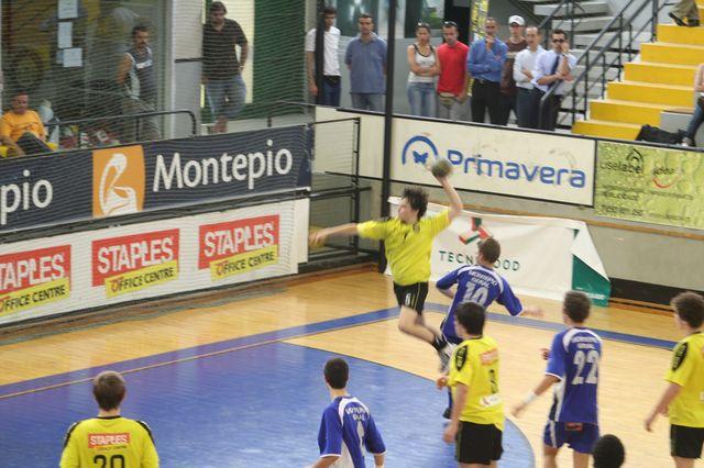 Fase Final CN 1ª Divisão Juvenis Masculinos - ABC : Belenenses 38