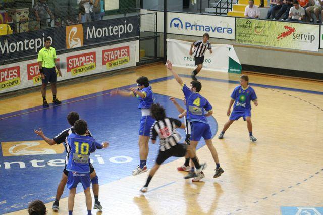 Fase Final CN 1ª Divisão Juvenis Masculinos - SC Espinho : DF Holanda 15