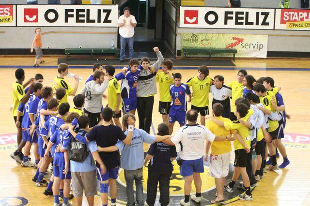 Fase Final CN 1ª Divisão Juvenis Masculinos - ABC : Belenenses 57