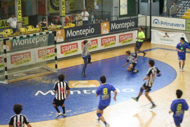 Fase Final CN 1ª Divisão Juvenis Masculinos - SC Espinho : DF Holanda 4