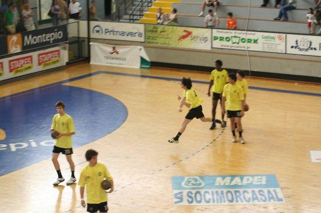 Fase Final CN 1ª Divisão Juvenis Masculinos - ABC : Belenenses 4