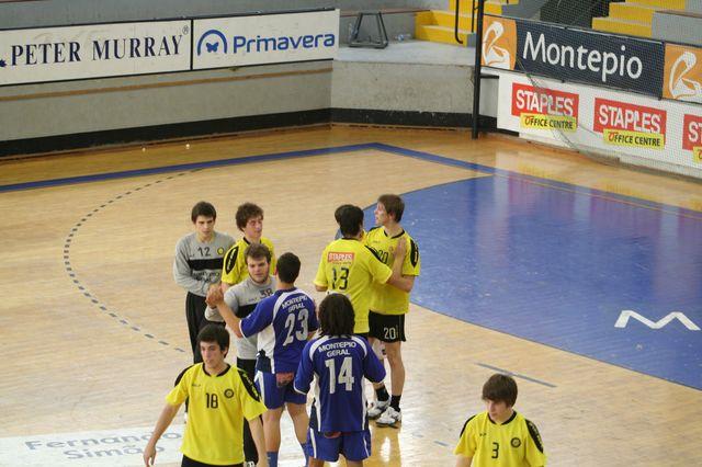 Fase Final CN 1ª Divisão Juvenis Masculinos - ABC : Belenenses 54