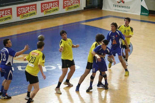 Fase Final CN 1ª Divisão Juvenis Masculinos - ABC : Belenenses 21