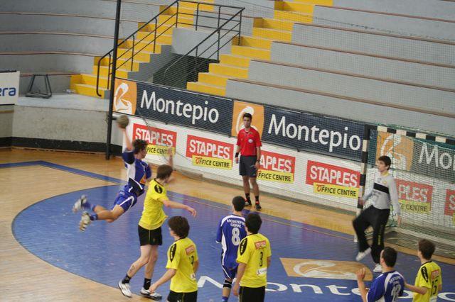 Fase Final CN 1ª Divisão Juvenis Masculinos - ABC : Belenenses 34