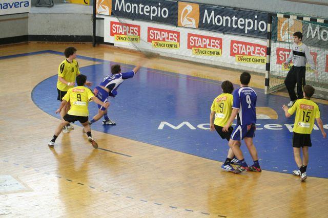 Fase Final CN 1ª Divisão Juvenis Masculinos - ABC : Belenenses 22