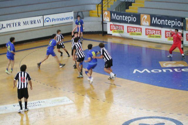 Fase Final CN 1ª Divisão Juvenis Masculinos - SC Espinho : DF Holanda 3