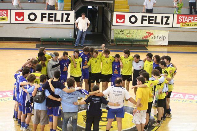 Fase Final CN 1ª Divisão Juvenis Masculinos - ABC : Belenenses 56