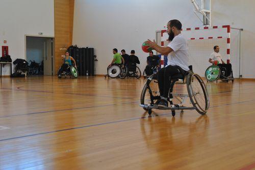 1º Estágio da Selecção Nacional de Andebol em cadeira de rodas