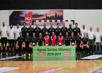 Foto AA Aguas Santas - Andebol 1 - 2016-17