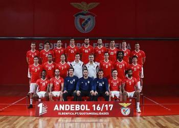 Foto SL Benfica - Andebol 1 - 2016-17