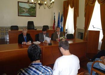 Assinatura do Protocolo - FAP e Câmara Municipal de São João da Pesqueira