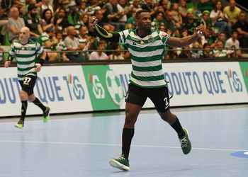 Pedro Valdez - Sporting CP - Velux EHF Champions League - foto: PhotoReport.In