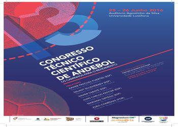 Cartaz 13º Congresso Técnico Cientifico de Andebol
