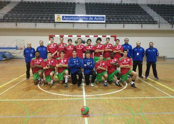 Selecção Nacional Juniores C Masculinos - Torneio Avilés