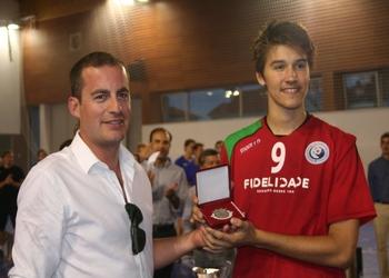 Scandibérico 2014 - Portugal (Miguel Martins) recebe prémio 2.º lugar