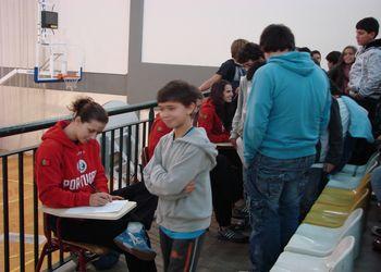 Selecção Nacional A feminina em visita a escolas na Madeira