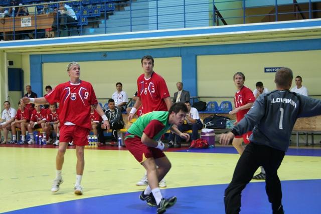 Campeonato Europeu Sub20 Masculino Roménia 2008 - Eslováquia : Portugal - Tiago Pereira