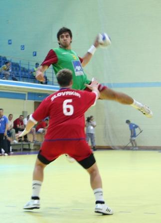Campeonato Europeu Sub20 Masculino Roménia 2008 - Eslováquia : Portugal - José Rolo