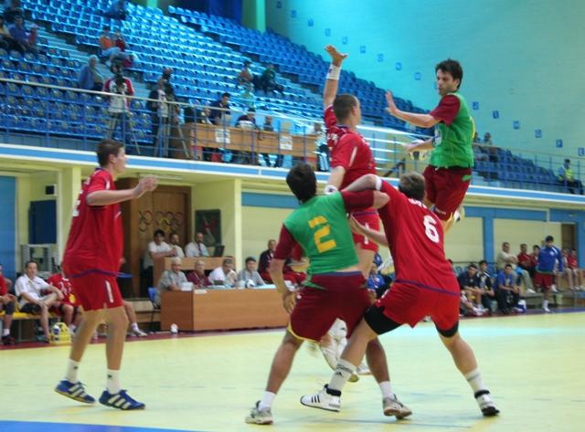 Campeonato Europeu Sub20 Masculino Roménia 2008 - Eslováquia : Portugal - Fábio Magalhães