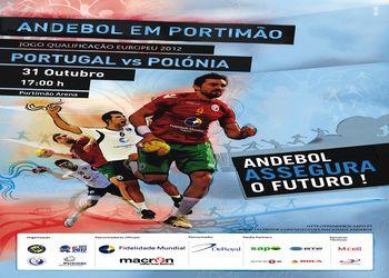 Cartaz Portugal - Polónia - qualificação Euro 2012