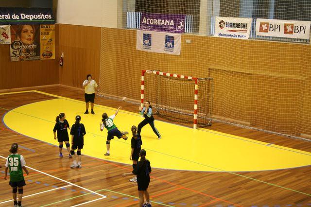 Fase Final Infantis Femininos, 7 a 10.06.2008 - C.D.B. Perestrelo : C.S. Juv. Mar 6