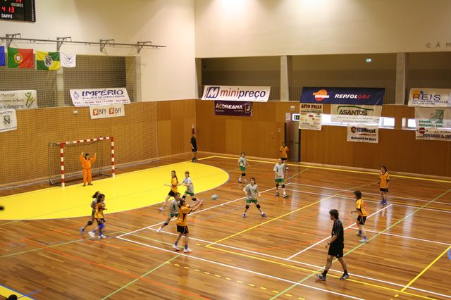 Fase Final Infantis Femininos, 7 a 10.06.2008 - EPA Moimenta Beira : C.A. Leça 3