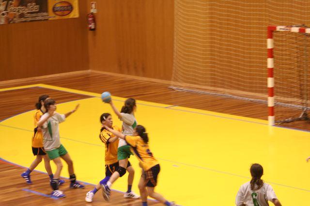 Fase Final Infantis Femininos, 7 a 10.06.2008 - EPA Moimenta Beira : C.A. Leça 7