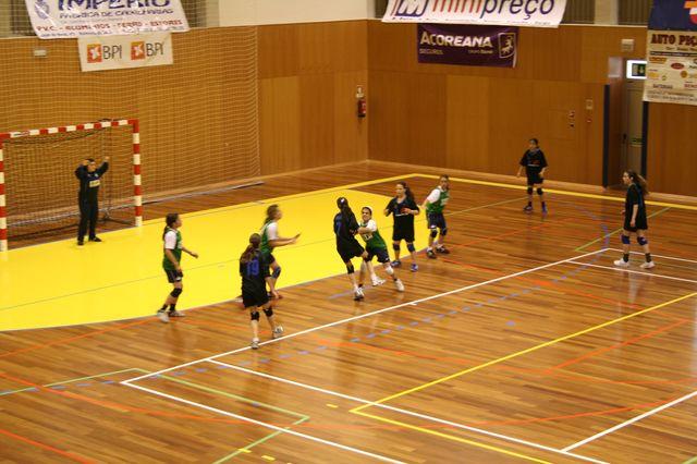 Fase Final Infantis Femininos, 7 a 10.06.2008 - C.D.B. Perestrelo : C.S. Juv. Mar 3