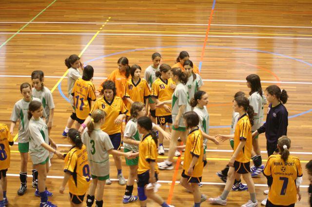 Fase Final Infantis Femininos, 7 a 10.06.2008 - EPA Moimenta Beira : C.A. Leça 8
