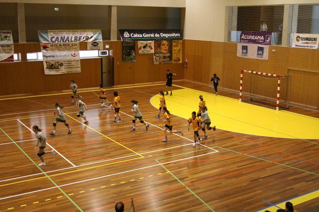 Fase Final Infantis Femininos, 7 a 10.06.2008 - EPA Moimenta Beira : C.A. Leça 5