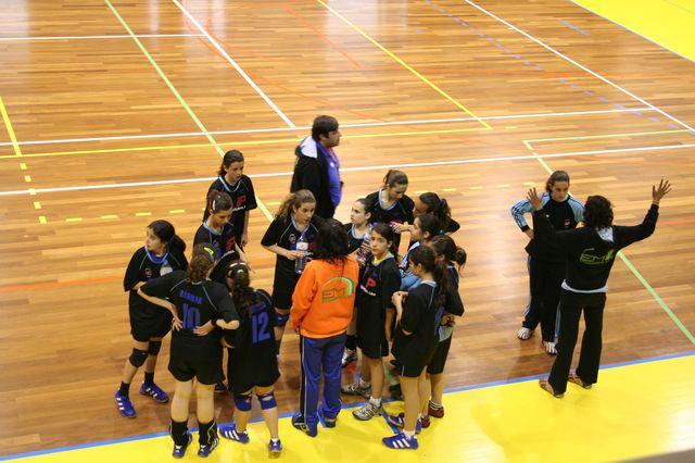 Fase Final Infantis Femininos, 7 a 10.06.2008 - C.D.B. Perestrelo : C.S. Juv. Mar 8