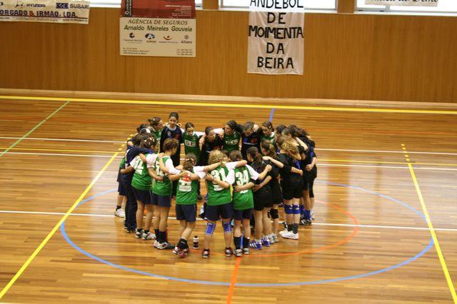 Fase Final Infantis Femininos, 7 a 10.06.2008 - C.D.B. Perestrelo : C.S. Juv. Mar 12