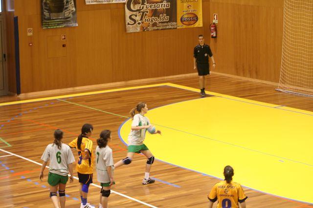 Fase Final Infantis Femininos, 7 a 10.06.2008 - EPA Moimenta Beira : C.A. Leça 6