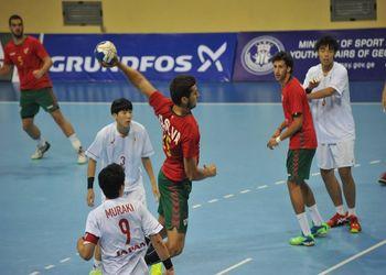Japão : Portugal - Campeonato Mundo Sub19 Masculinos