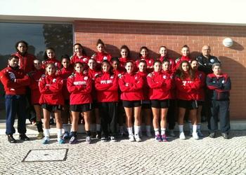Seleção Juniores B - Fem - Outubro 2012