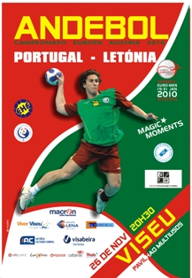 Cartaz Portugal - Letónia