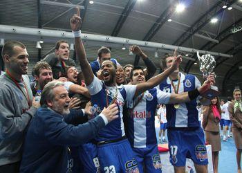 FC Porto vencedor da Supertaça Andebol Portimão 2010