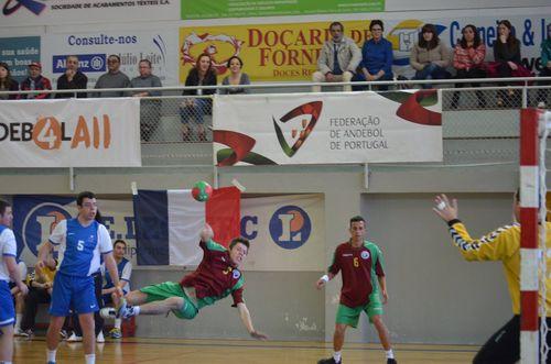 1º Campeonato Europeu de Andebol INAS - Fafe 2015 - Portugal - França