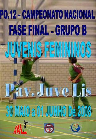 Cartaz PO12 - Fase Final Grupo B