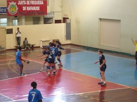 Maiastars : ASS Assomada - Fase Final B Campeonato Nacional Juniores Femininos 9
