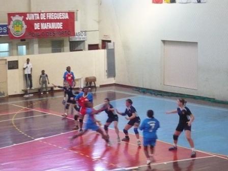 Maiastars : ASS Assomada - Fase Final B Campeonato Nacional Juniores Femininos 10