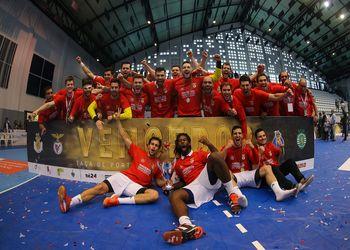 SL Benfica - vencedor da Taça de Portugal 2017/2018 - foto: Pedro Alves