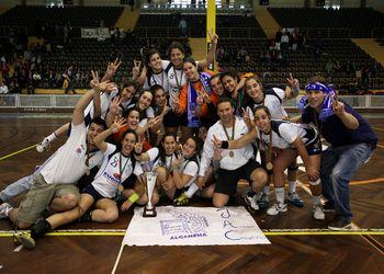 JAC-Alcanena - Campeão Nacional de Juvenis Femininos 2011-12 - foto de José Lorvão