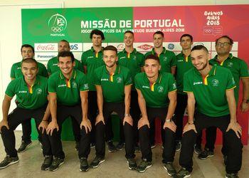 Selecção Nacional Sub-18 Masculina de Andebol de Praia - JOJ Buenos Aires 2018