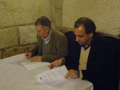 Assinatura Protocolo FAP - CF Professores Vila Real
