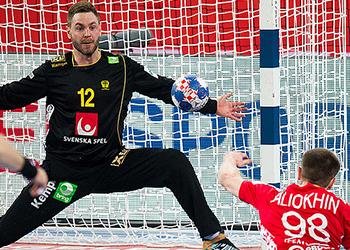 Suécia : Bielorússia - Campeonato da Europa 2018 - foto: Sasa Pahic Szabo