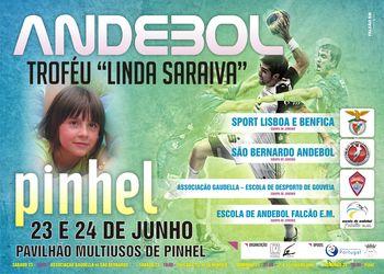 Cartaz 3º Torneio Linda Saraiva a 23 e 24 de Junho