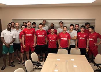 Seleção A Masculina - Portugal chegada à Sérvia