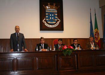 Cerimónia de assinatura de protocolos com os Municípios de Resende, Baião e Mangualde