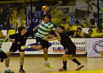 Sporting CP : Águas Santas - Fase Final Campeonato Nacional Iniciados Masculinos 2012-13